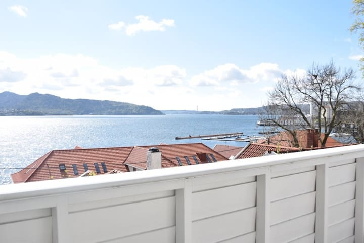 Panorama ocean-view apartment near city center