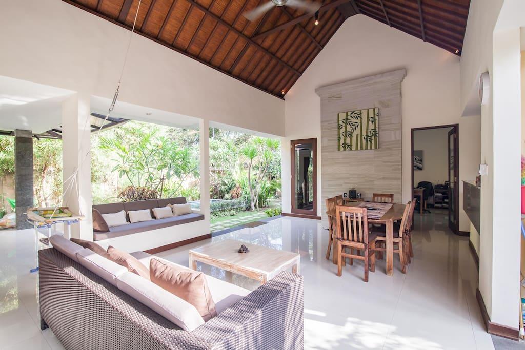 Open living-room