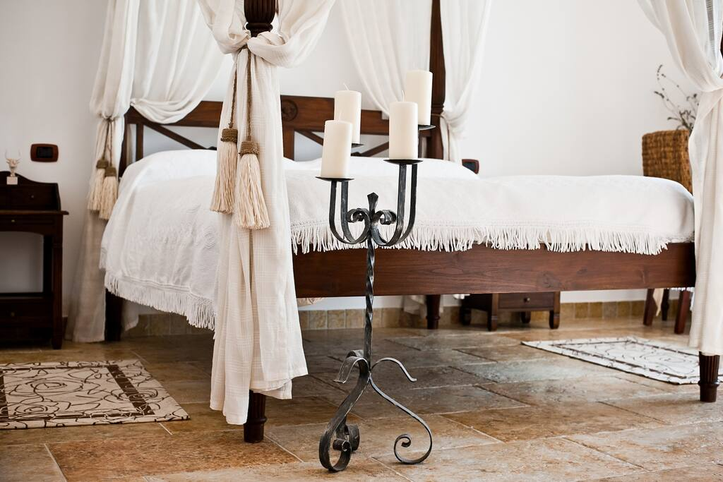 Suite con letto a baldacchino