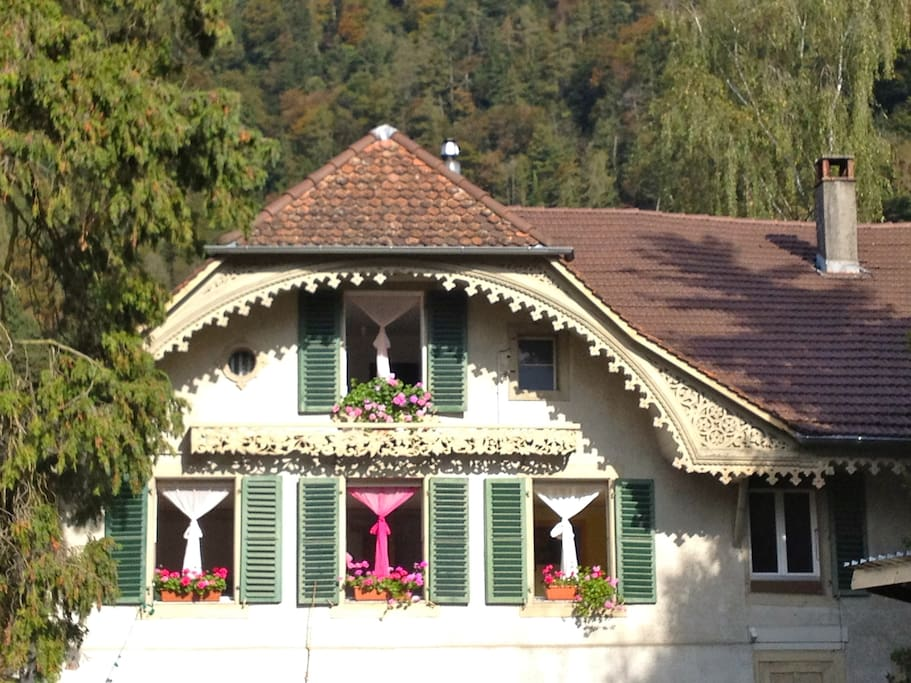 Farmhouse des Alpes