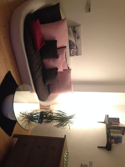 here is the cosy couch.