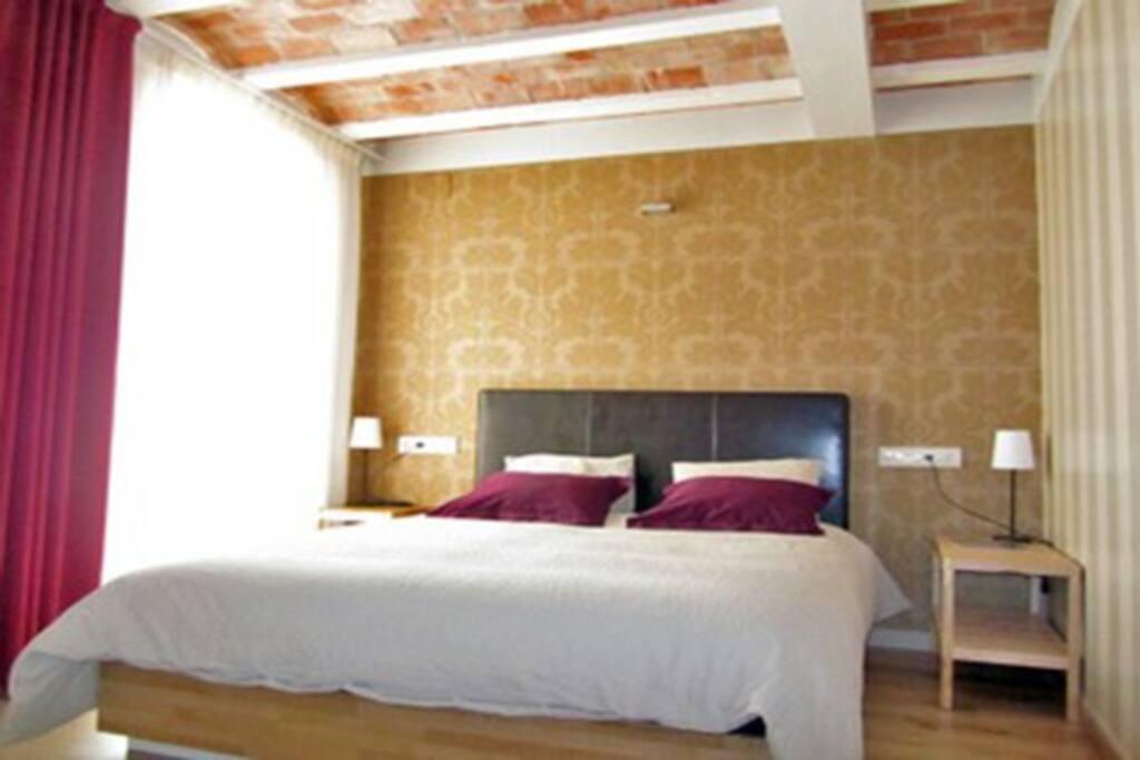 Habitación del apartamento LA CARENA