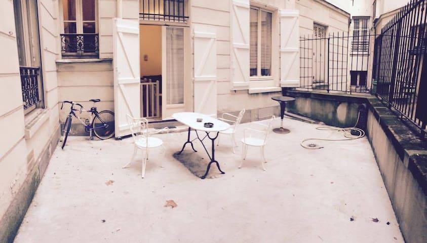 Cosy appartment in 16 district Paris (Terace) - Paris - Daire