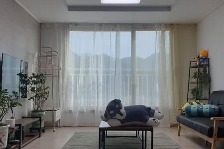 침구매일세탁,호텔급 퀄리티&편안함,미르安304Healing_Residence#광주수완10분