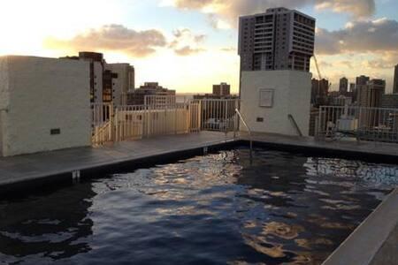 Waikiki Penthouse w/parking