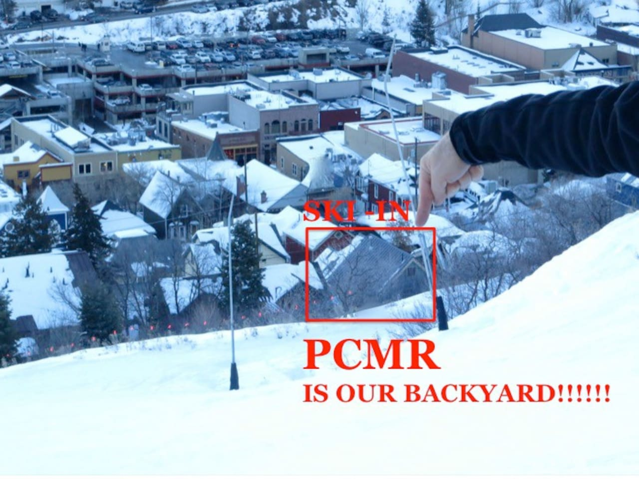 main street best location family friendly ski in houses for rent