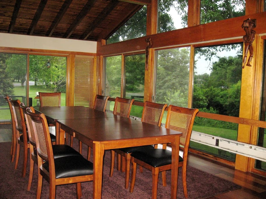 Dining Room overlooking Silver Lake