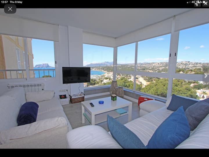 Cosy and renovated apartment located in Moraira