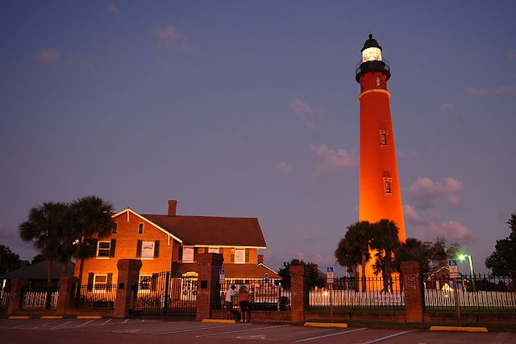 Just 5 miles away this lighthouse stands as the second tallest in the United States. Walk your way up to the top and see the amazing view.