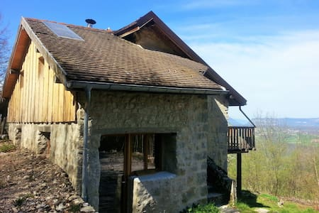 Eco refuge Seyssel Entre Rhône et Grand Colombier - Corbonod