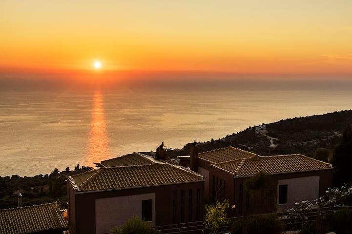 Seaviews, Sunsets, Beaches-Naranja - Lefkada Island - Casa