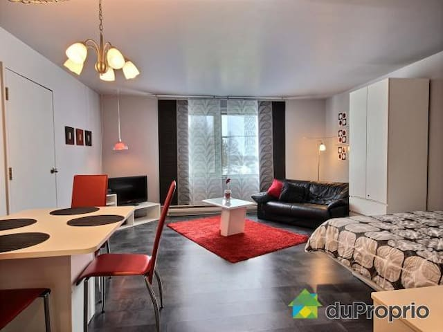Studio Québec et montagne - Saint-Ferréol-les-Neiges - Apartamento