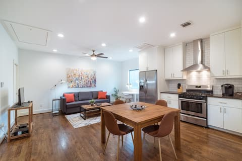 Belle 1BR Bungalow   Downtown Med Center Stadiums