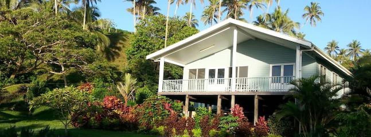 Vosa Ni Ua House: From Fiji Lodge. - Savusavu - Wikt i opierunek