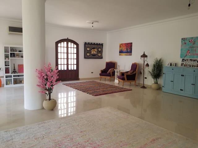 340 sqm Apartment in a Villa, Gated villas Area.