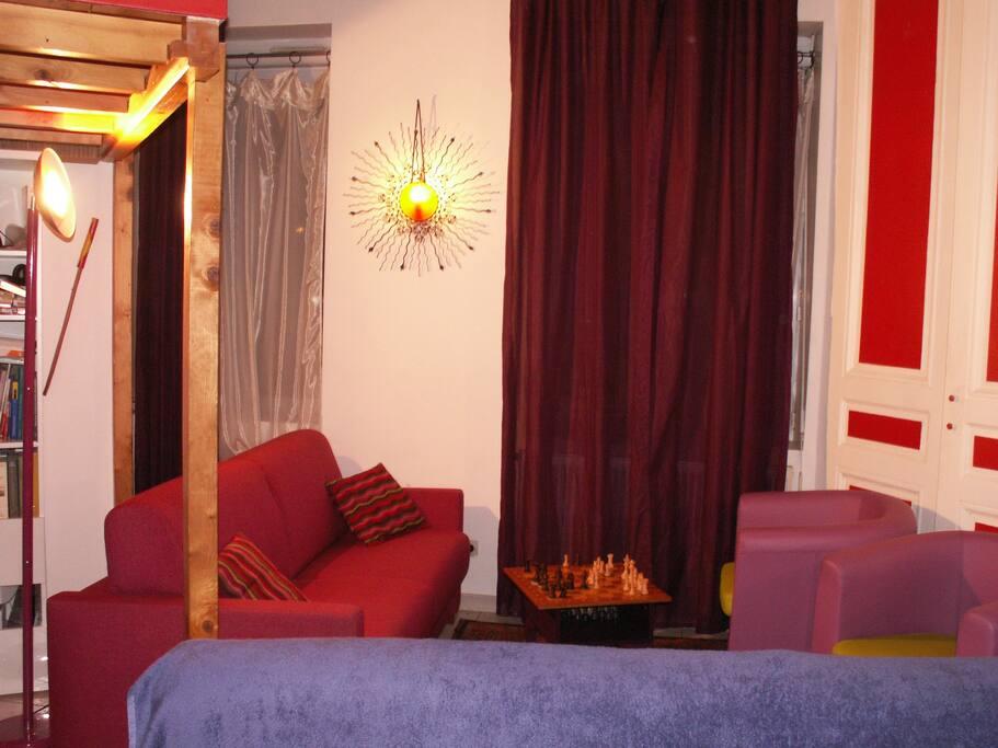 Salon cosy