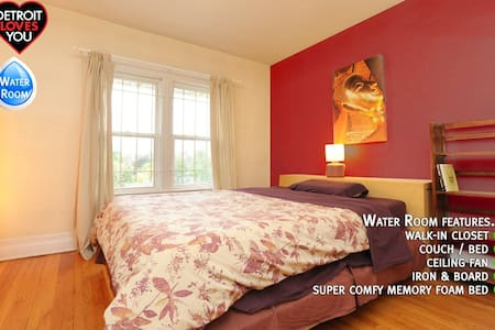 Detroit Loves You Home: Water Room