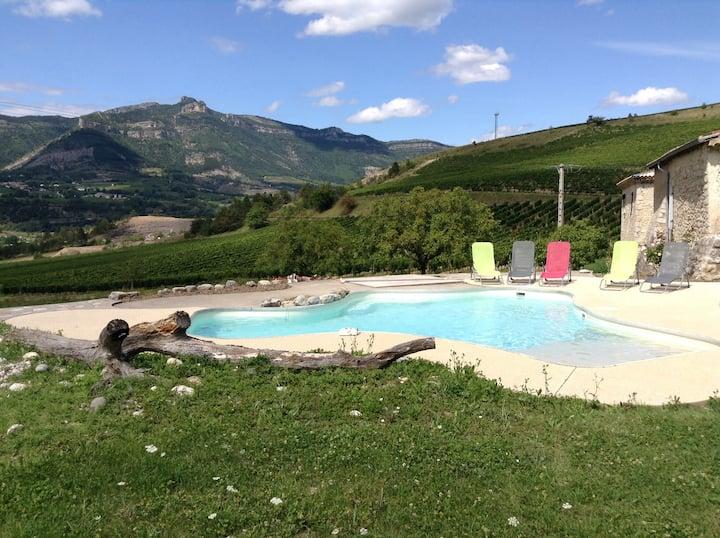 Maison avec piscine et spa - 14 personnes - 180m2