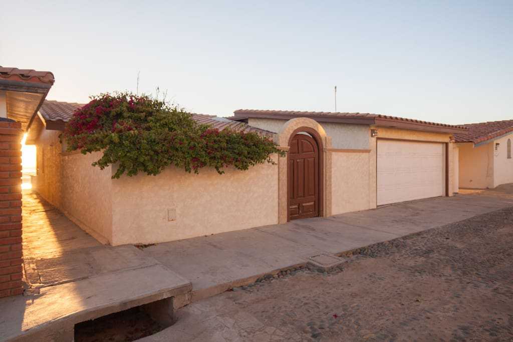 24 hour Gauded Gate Community,  Single family Beachfront Home , Unobstructd Views  of Coronado Islands, Three steps to a White Sandy Beach, Rolling White-crested  Waves, Roaring Surf  Totally Private