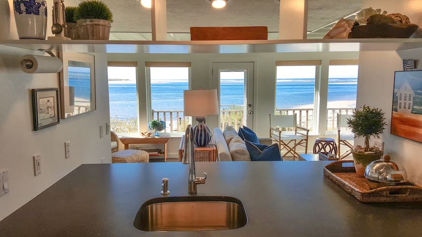 Beachfront home, private yard, & stunning views! - Tillamook