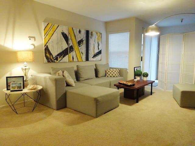 Beautiful and cozy 1 bed apartment - Walnut Creek - Apartamento