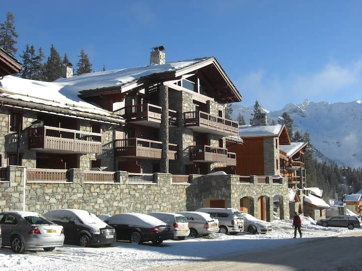 Central 2 bed/2 bathApartment in La Rosiere