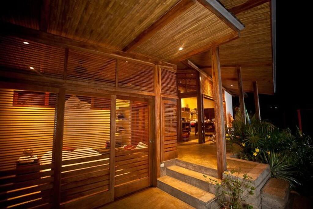 Outside Almendro Bedroom @ Night