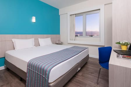 Elegant Double Bed At Belo Horizonte