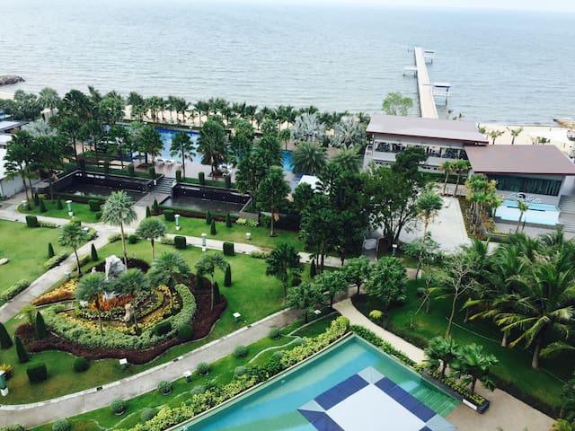 Beach condo 2BR Bangsean, Chonburi - Sukhumvit Seansuk - Condominium
