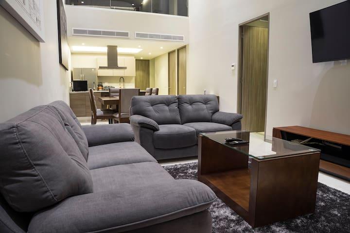 Penthouse de 2 plantas - Zona Andares/Pabellon