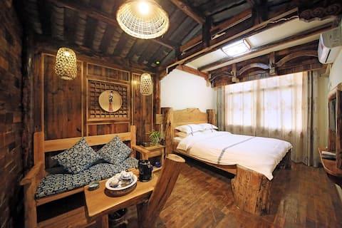 近火车站汽车站天门山枫香寨大床房,免费规划游玩路线,免费品茶