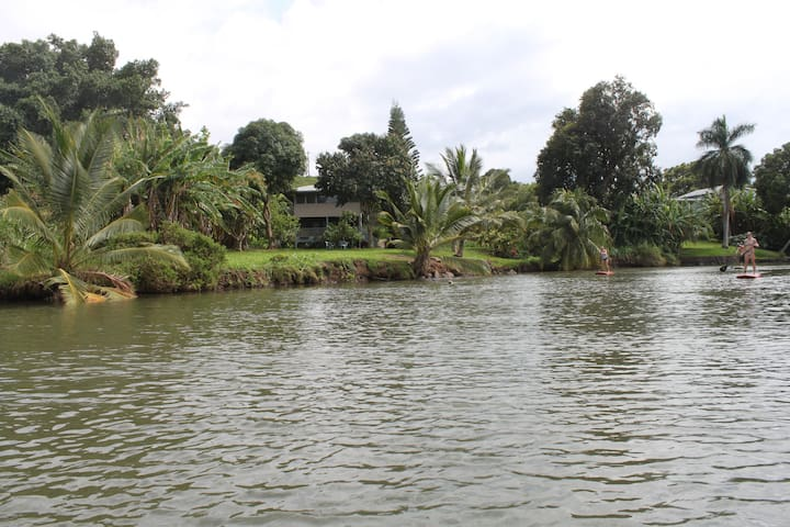 Two-Bedroom House on the River