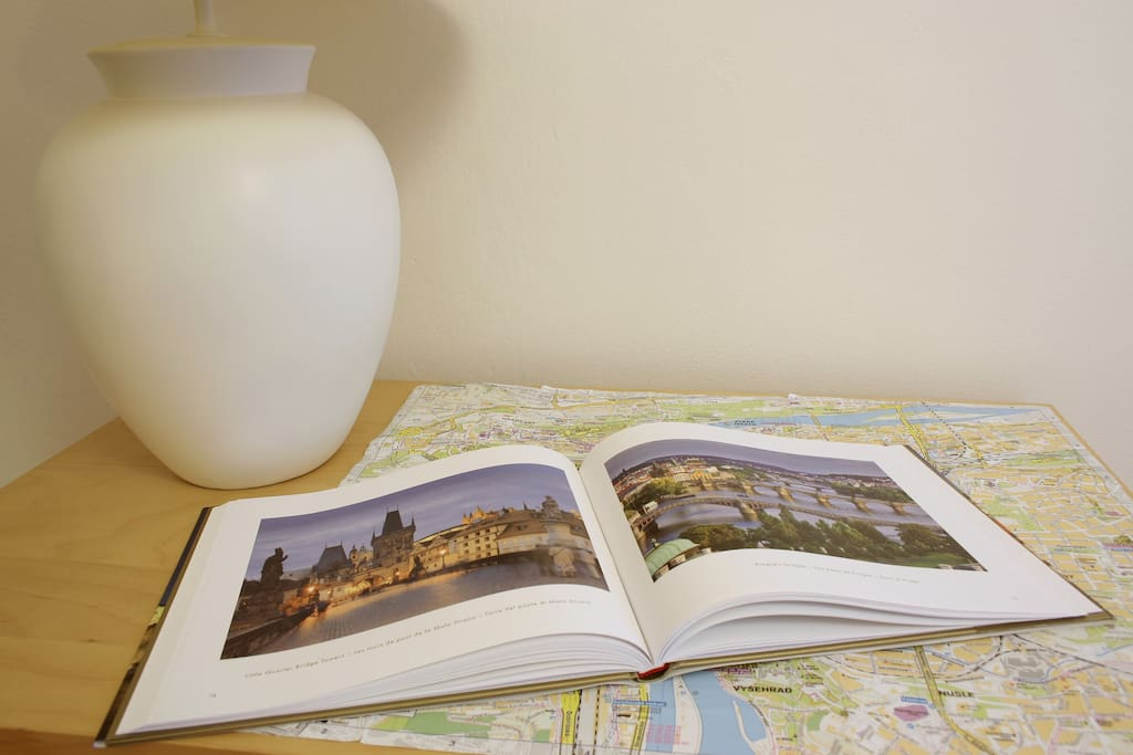 We bought book about Prague and citymap is included!