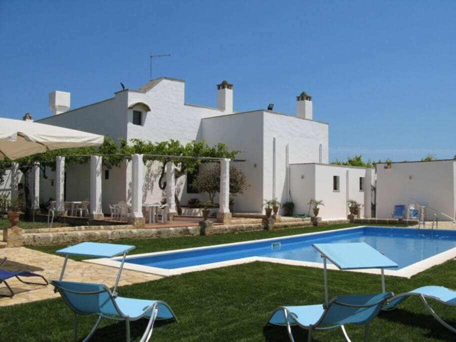 Salento gallipoli villa con piscina villas for rent in - Villa con piscina salento ...