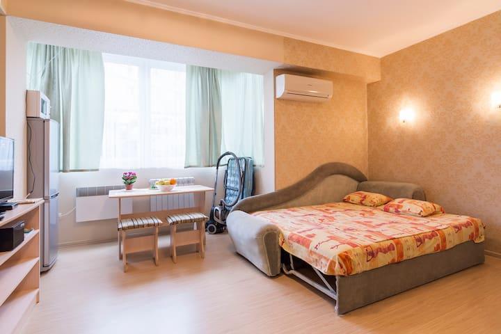 Уютная Студия в Сочи, Море-15мин )) - Sochi - Appartamento