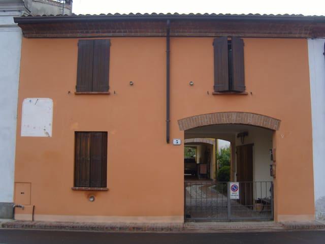 casetta rustica stile antico - Sabbioneta - Huis