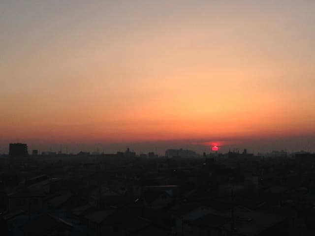 A room with the view of Sunrise - Kawaguchi-shi - Apartment