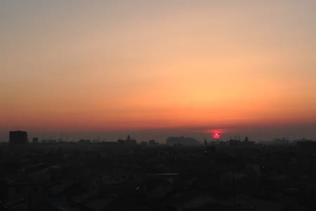 A room with the view of Sunrise - Kawaguchi-shi