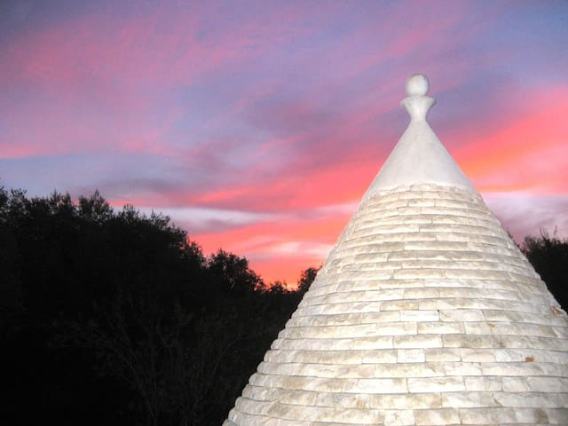 Il Paradiso, a magical trullo set amongst olives - Pascarosa - Rumah