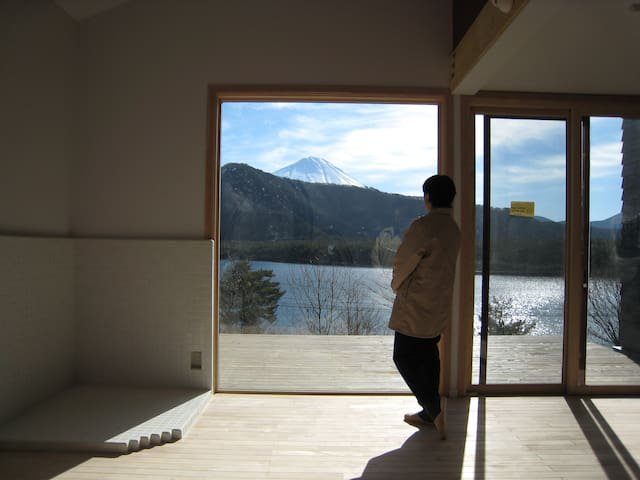 Weekend House OjiharaC at LakeSaiko - Fujikawaguchiko - Casa