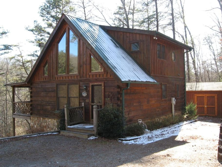 Main Entrance to Cabin