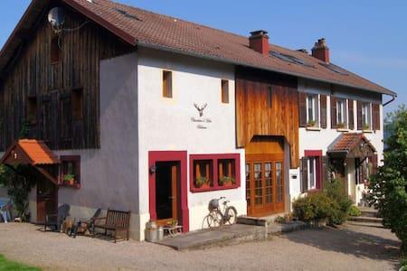 Bellevue, chambres d´hotes Vogezen - Ban-sur-Meurthe-Clefcy - Bed & Breakfast