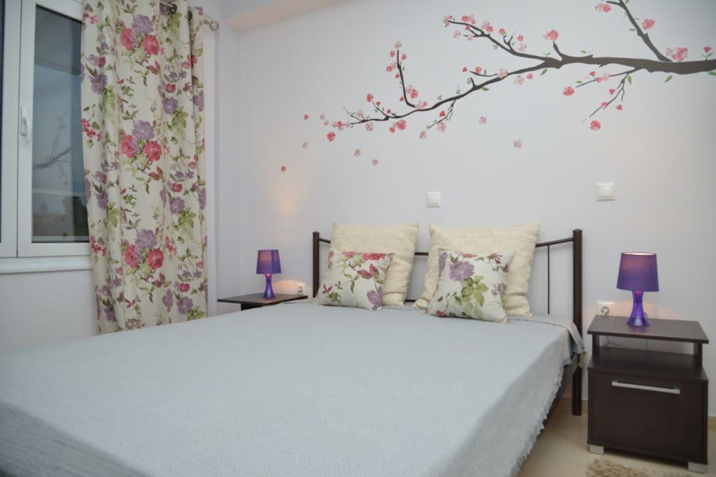 The bedroom with high quality bed