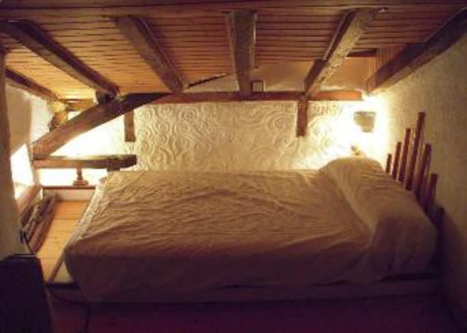 Habitacion de invitados con cama de 120 cm de ancho