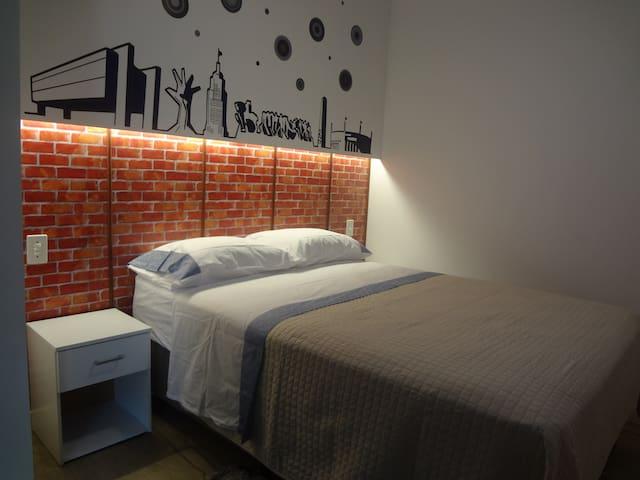 Apartamento/Stúdio na esquina mais famosa de Sampa