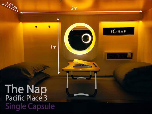 The Nap Pacific Place 3 享睡 金鐘 2 Single Capsule