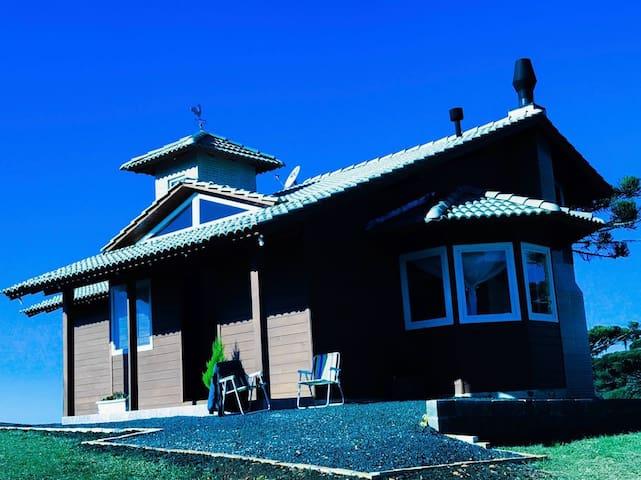 Casa de campo na Serra Catarinense