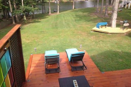 Lakefront getaway near Ashland - Ashland - Haus