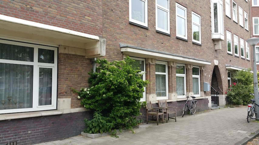 Ground floor 1-person room in South Amsterdam/RAI