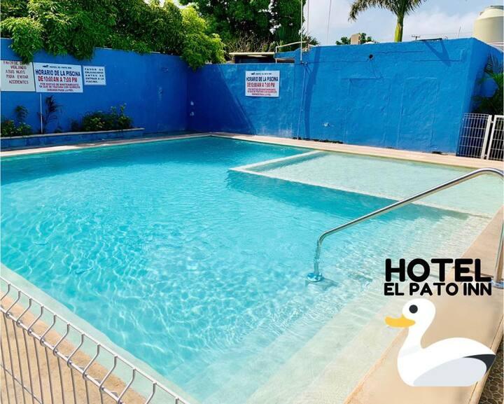 Hotel El Pato Ofrece comodas habitaciones.